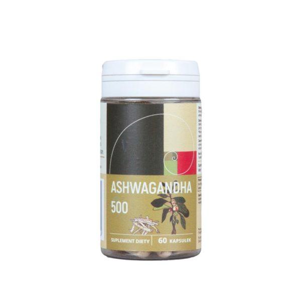 suplement diety adaptogen ashwagandha 500 mg 60 kapsulek