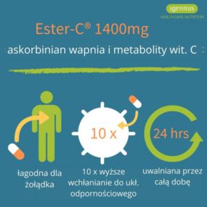 zdrowie naturalnie ester-c igennus etykieta
