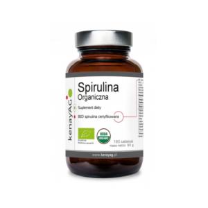 zdrowie naturalnie kenay spirulina organiczna opakowanie