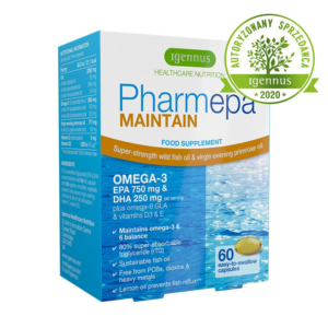 zdrowie naturalnie pharmepa maintain omega3 igennus
