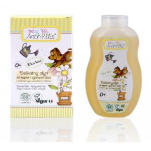 zdrowie naturalnie płyn do kapieli i szampon 2w1 baby anthyllis