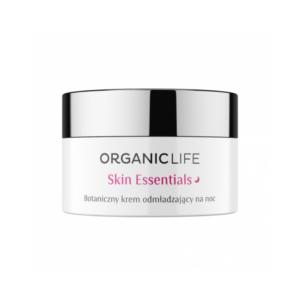 zdrowie naturalnie skin essentials organic life botaniczny krem odmladzajacy na noc
