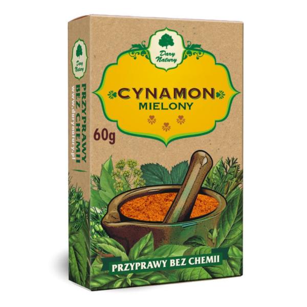 zdrowie naturalnie cynamon bez glutenu