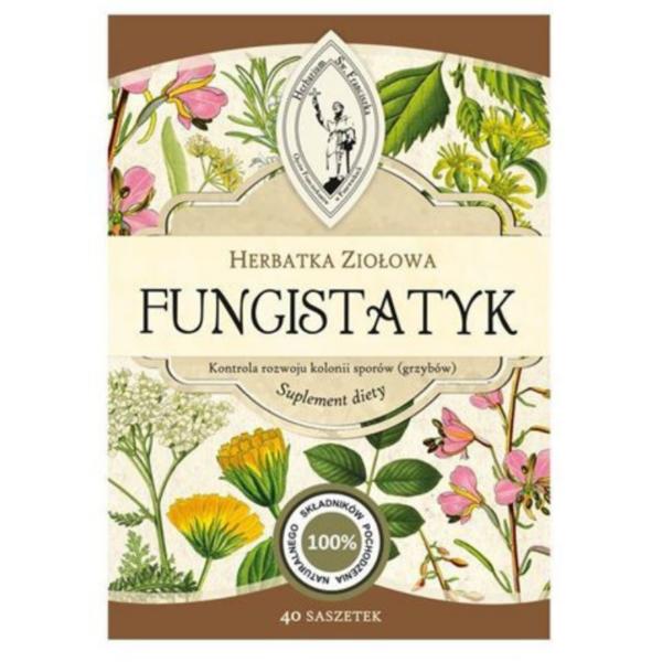 zdrowie naturalnie fungistatyk grzyby candida mieszanka ziołowa