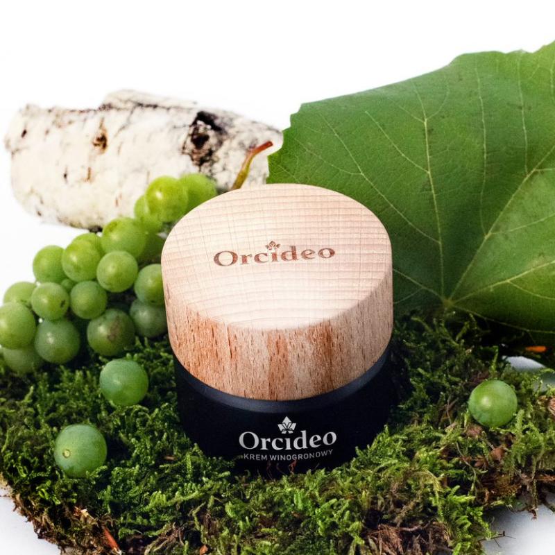 zdrowie naturalnie krem winogronowy przeciwzmarszczkowy peptydy Orcideo