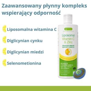 zdrowie naturalnie liposomalna witamina c z cynkiem odporność