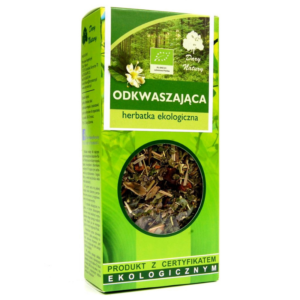 zdrowie naturalnie mieszanka herbata odkwaszająca