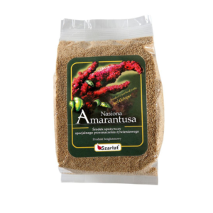 zdrowie naturalnie nasiona amarantusa bez glutenu