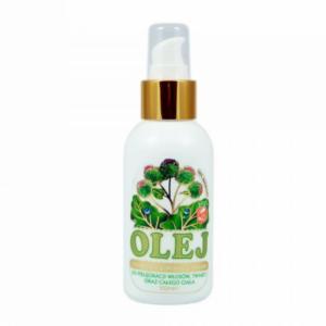 zdrowie naturalnie olejek łopianowy łopian wypadanie włosów