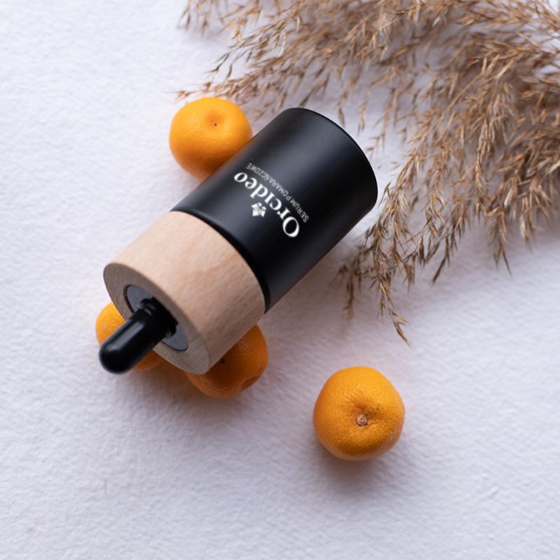 zdrowie naturalnie serum pomarańczowe rewitalizujące Orcideo kosmetyki naturalne