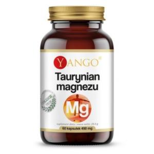 zdrowie naturalnie taurynian magnezu 490mg