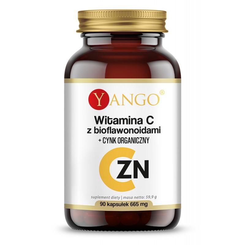 zdrowie naturalnie witamina c z bioflawonoidami i cynkiem