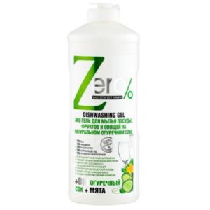 zdrowie naturalnie zero płyn do naczyń na bazie soku ogórkowego