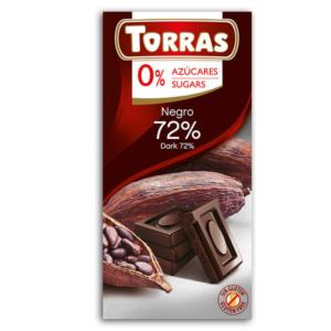 zdrowie naturalnie czekolada gorzka bez cukru Torras