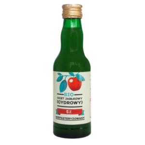 zdrowie naturalnie ocet jabłkowy cydrowy niepasteryzpowany