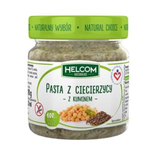 zdrowie naturalnie pasta z ciecierzycy z kuminem bezglutenowa