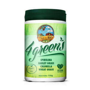 zdrowie naturalnie 4greens this is bio organiczna zielona superżywność