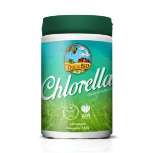 zdrowie naturalnie chlorella organiczna zielona super żywnosć this is bio