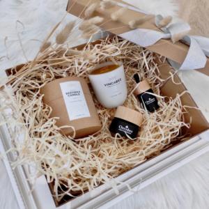 zdrowie naturalnie zestaw prezentowy kosmetyki orcideo świeca vincabee