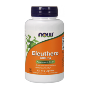 zdrowie naturalnie eleuthero zeń szeń syberyjski now foods