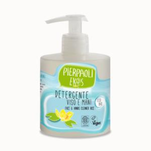 zdrowie naturalnie nawilżający płyn do mycia twarzy i rąk pierpaoli ekos