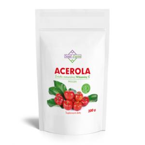 zdrowie naturalnie acerola proszek witamina c soul farm